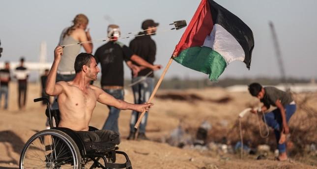 إصابة 25 فلسطينيا برصاص الجيش الإسرائيلي شرقي قطاع غزة