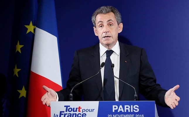 Former French President Sarkozy in police custody over Gadhafi funding inquiry