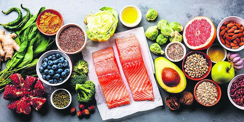 Brussels sprouts, beans, flax seeds, grains, avocado and nuts all contain high amounts of fiber.