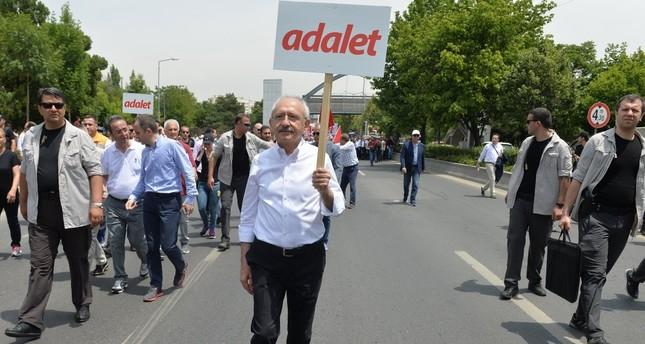 Will Kılıçdaroğlu's march bring him candidacy in 2019 elections?
