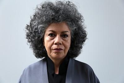 Colombian artist Doris Salcedo (AA Photo)