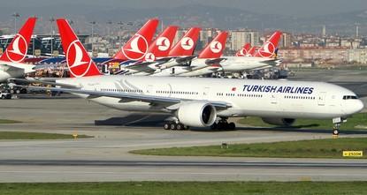 الخطوط الجوية التركية تتصدر قائمة أكثر 500 شركة إدخالاً للعملة الصعبة