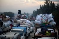 حركة النزوح تزداد شدة مع ازدياد القصف الهمجي على القرى والبلدات الفرنسية