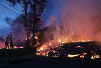 Lava from Hawaii volcano covers potentially explosive well at geothermal plant