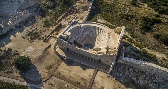 The ancient city has great historical riches like the amphitheater.