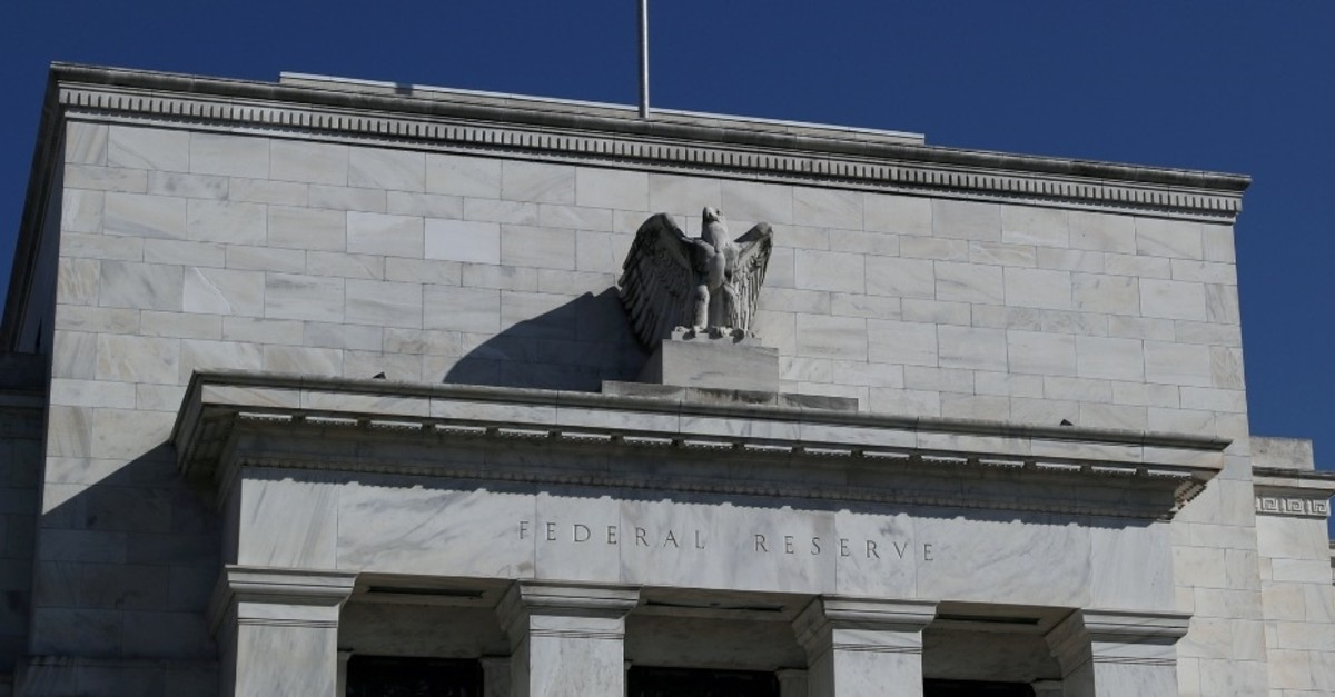 The Federal Reserve Board building on Constitution Avenue in Washington, March 19, 2019.