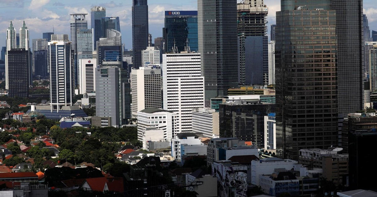 A general view shows the business district in the capital of Jakarta, Indonesia, May 2, 2019. (Reuters Photo)