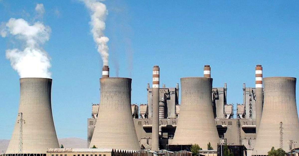 The thermal-power plant in Turkeyu2019s Elbistan, Kahramanmarau015f.