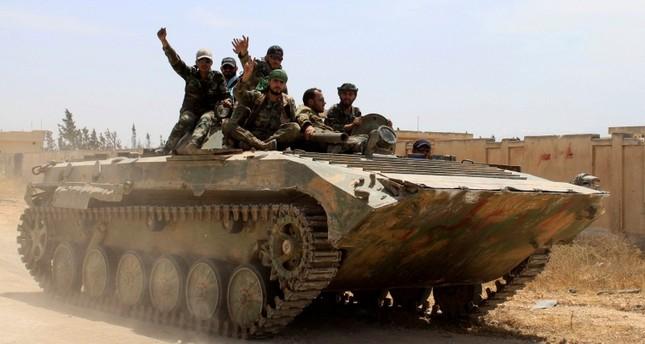 East Syria strike kills 38 pro-regime fighters