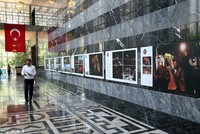 Photos reflecting the night of July 15 exhibited at Grand National Assembly