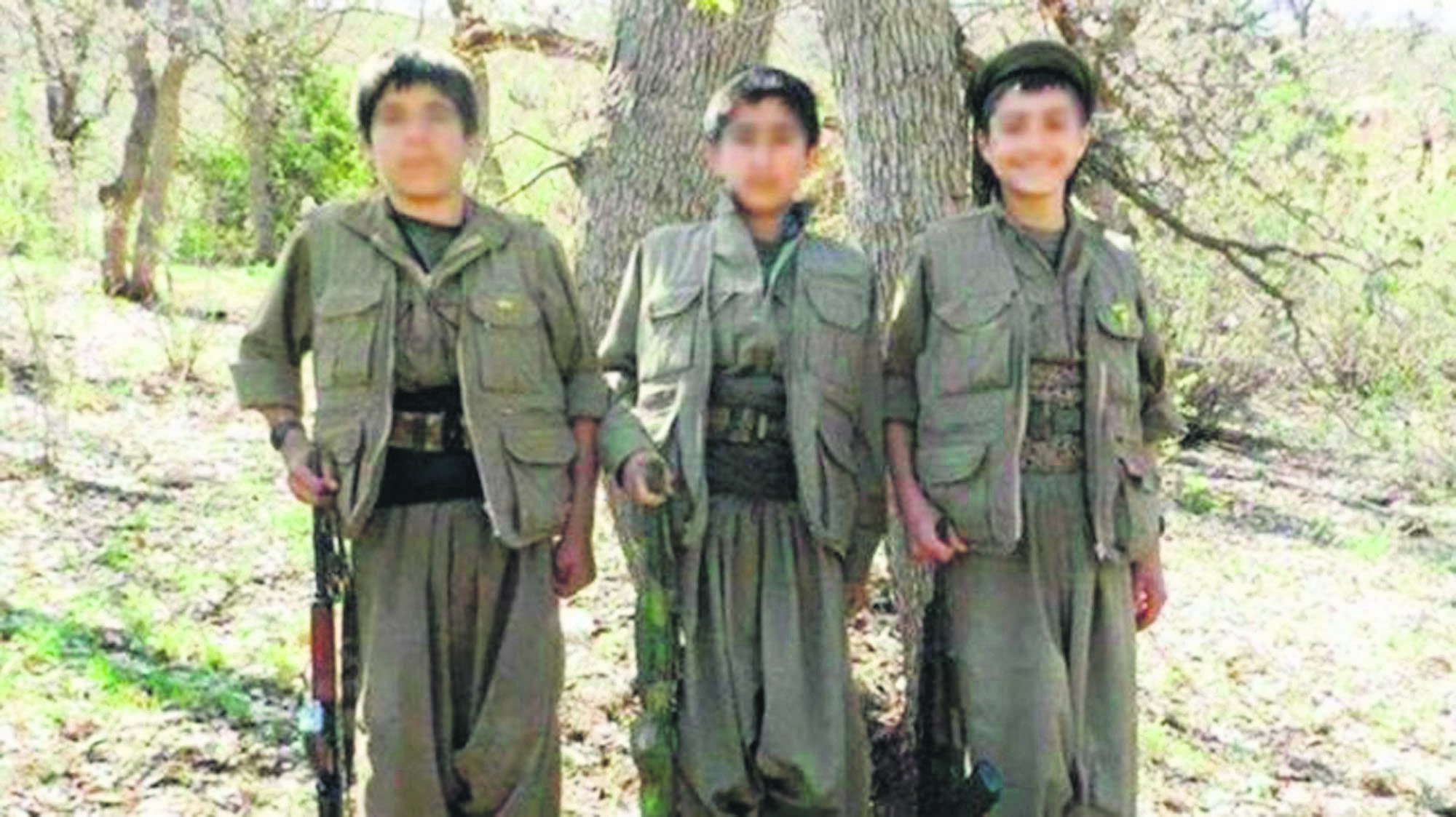 The Ezidi children who fled from Daesh were forcibly recruited by PKK and were taken to the terror groupu2019s headquarters in Iraqu2019s Qandil. (File Photo)
