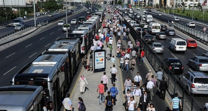 Record 1.6 billion people used public transit in Istanbul in 2018, stats say
