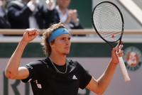 French Open: Zverev survives four-hour marathon, Del Potro battles on