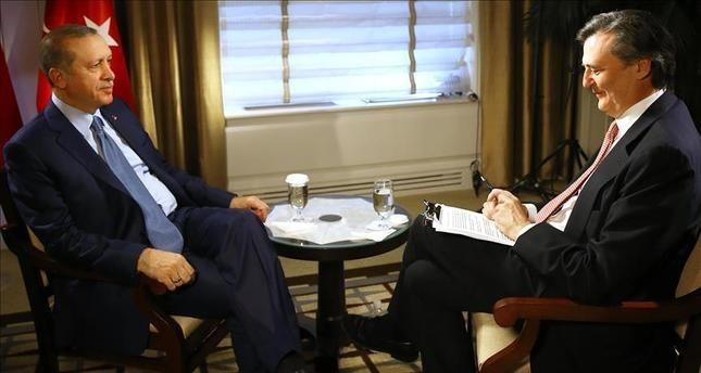 أردوغان يرد على سؤال أيهما تفضل رئيساً لأمريكا كلينتون أم ترامب؟