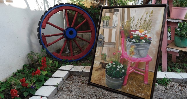 Artist turns garden into arthouse in the hills of Mount Ida