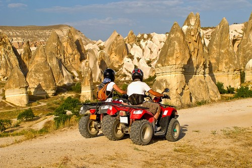 ATV quad bike ride.