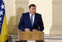 Newly-elected chair of Bosnian presidency Dodik says will use Serbian passport in int'l travel