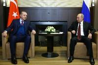 Erdoğan, Putin discuss situation in Syria's Afrin, Idlib
