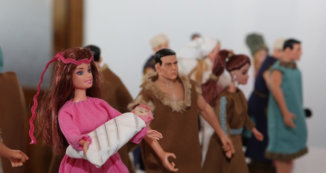 The dolls are inspired by the ancient Hittite manuscripts.