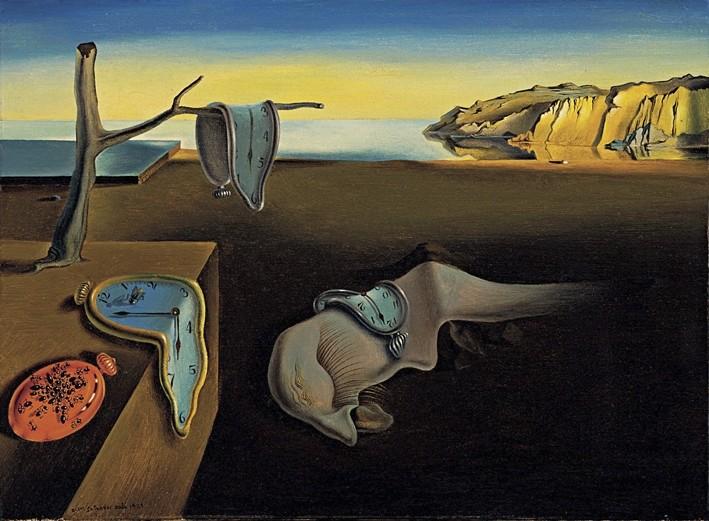 Salvador Dali's ,The Persistence of Memory,