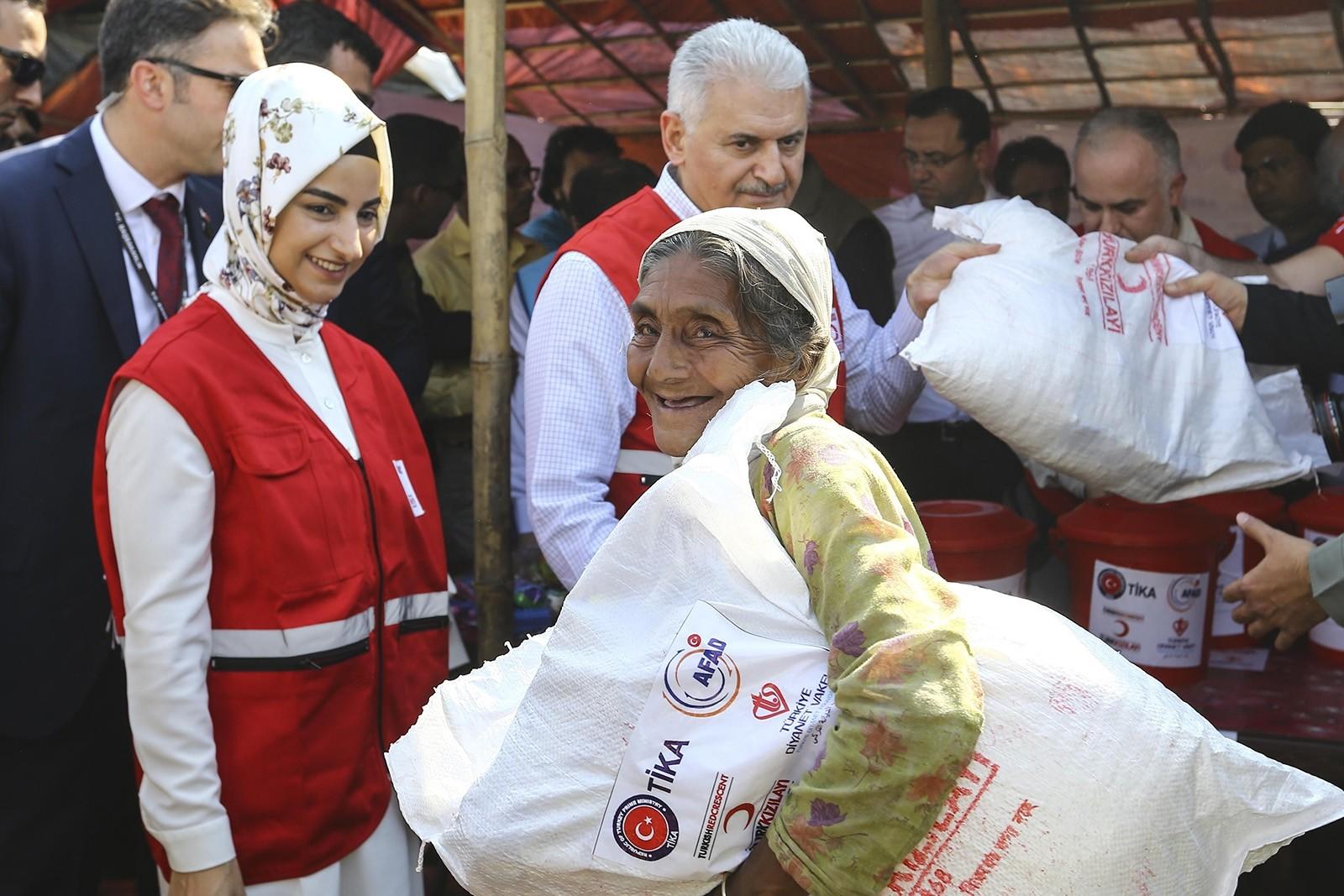 PM Yıldırım urges global community to take action for Rohingya crisis