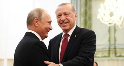Эрдоган и Путин обсудят сотрудничество в Сочи
