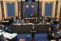 US Senate adopts impeachment trial rules, rejecting witnesses