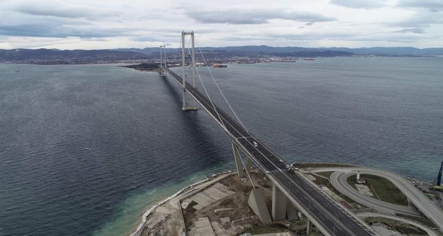 At the ceremony to unveil Turkey's first domestic car in the industrial district of Gebze on Dec. 27, 2019, President Recep Tayyip Erdo?an will test drive the fully electric SUV model on Osmangazi Bridge. DHA Photo