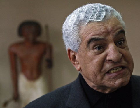 Egypt's former Minister of Antiquities Zahi Hawass (REUTERS Photo)
