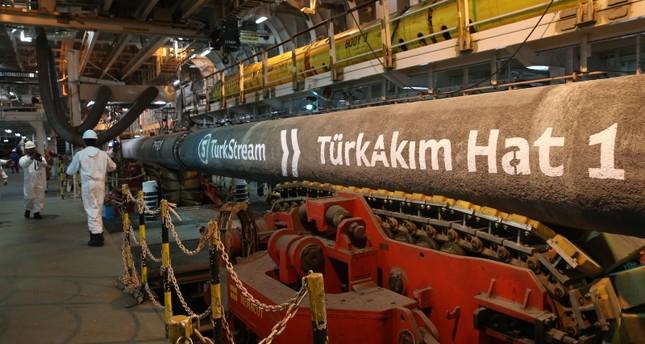 أنقرة: مشروع السيل التركي يكتمل نهاية 2019