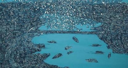 Работы лучших представителей турецкого искусства выставлены в Contemporary Istanbul