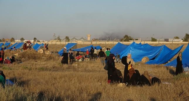 عدد النازحين من درعا إلى الحدود الأردنية والإسرائيلية يتجاوز 350 ألفا