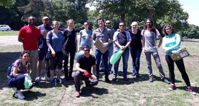 Tidy Turkey takes on World Cleanup Day