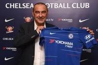 Chelsea signs former Napoli manager Sarri as new coach after Conte's exit