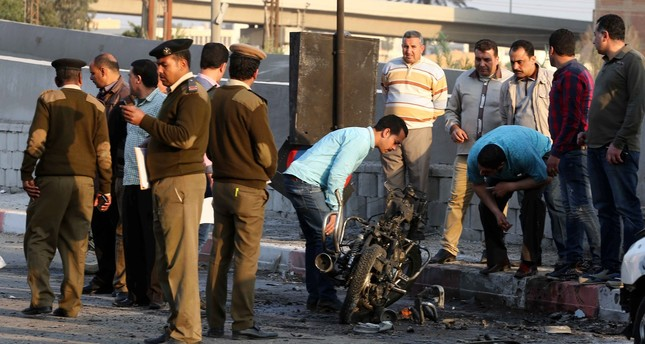 Image result for Bomb explosion kills 13 Police in Egypt's Nile Delta city
