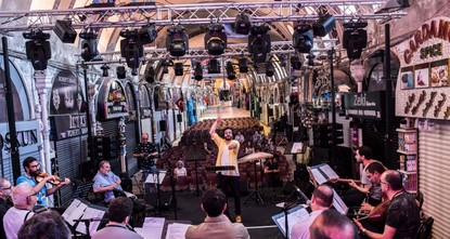 Istanbul's centuries-old heritage hosts music festival
