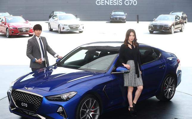Hyundai launches new Genesis sports sedan in SUV-driven market