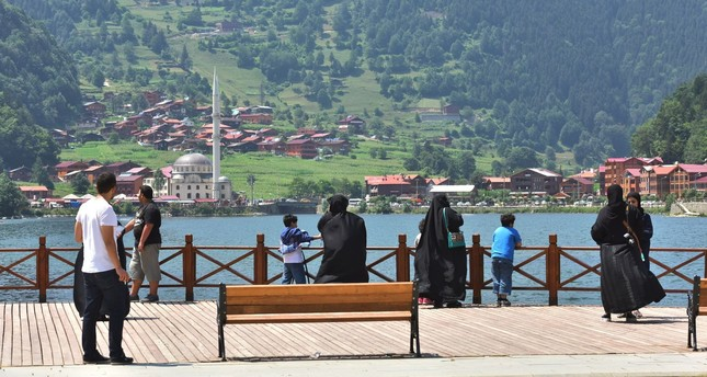 Uzungöl in Trabzon loated in the Turkey's Black Sea region is popular with tourists from the Gulf.