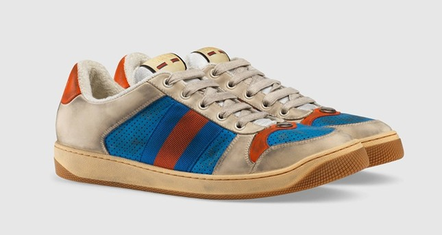 94def2244 Gucci draws groans with $870 'dirty' sneakers - Daily Sabah
