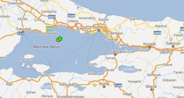 emAFAD earthquake map/em