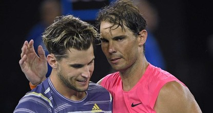 Nadal knocked out of Australian Open by Thiem