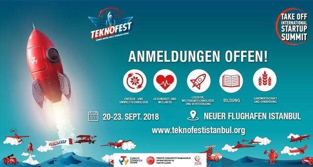 """Anmeldungen für Istanbuls TEKNOFEST Startup-Gipfel """"Take-Off"""" beginnen"""