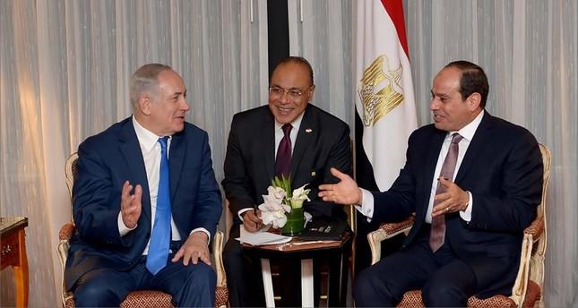 نتنياهو يشكر السيسي على مساعدته بإخماد حرائق إسرائيل