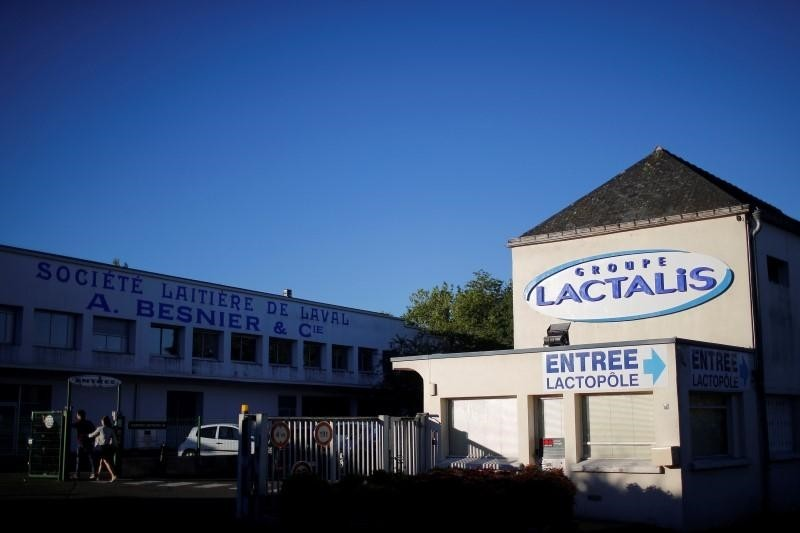 General view of the head office of Lactalis in Laval, France (Reuters File Photo)