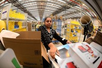US tech and retail giant Amazon yesterday said it would create 5,000 British jobs this year, in a show of confidence in the UK economy ahead of Brexit.