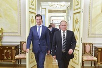 Russia's president Vladimir Putin met with his embattled Syrian counterpart Bashar Assad in the Russian Black Sea resort of Sochi, the Kremlin said in a statement on Tuesday. The meeting took place...