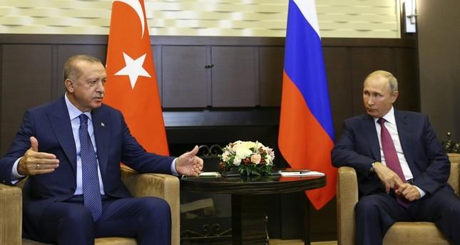 أردوغان: أثق أن البيان الذي سيصدر عن قمة سوتشي سيعطي المنطقة أملا جديدا