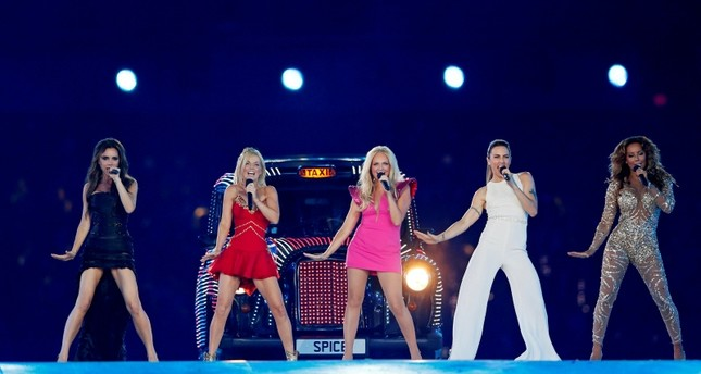 The Spice Girls perform during the closing ceremony of the London 2012 Olympic Games at the Olympic Stadium, August 12, 2012. (REUTERS Photo)