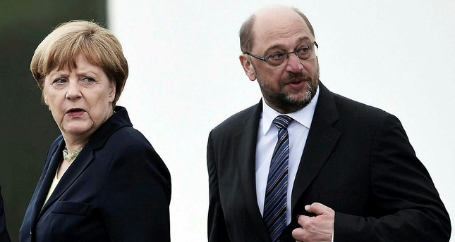 Schulz calls Merkel 'aloof' and 'out of touch' as German vote nears