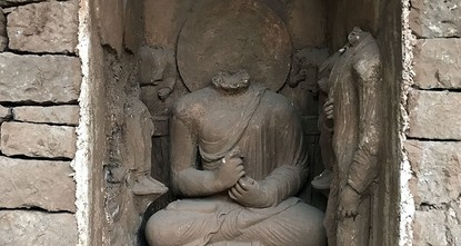pPakistan unveiled the remains of a 1,700-year-old sleeping Buddha image on Wednesday, part of an initiative to encourage tourism and project religious harmony in a region roiled by...